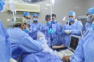 اول جراحة جنين في مصر والشرق الأوسط
